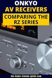 Onkyo Av Receivers Comparing The Rz Series