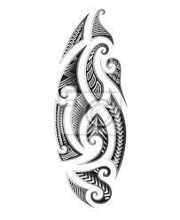 Plakát Tattoo Tribal Maori Vektorové Prvky Návrhu Tribal Tetování