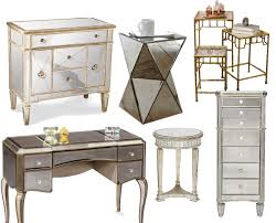 Ready Assembled White Bedroom Furniture Mirrored Furniture Vegas Smoke Mirrored Bedside Table Chest