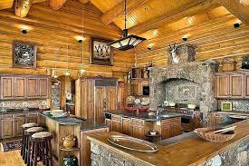cabin kitchen design. Contemporary Cabin Cabin Kitchen Design Log Isl On Designs  Style To Cabin Kitchen Design S