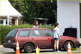 Katie Holmes Rides a Vintage Bike on Her Movie Set: Photo 3441123 ...