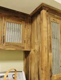 reclaimed wood cabinet doors. Rustic Tall Storage Reclaimed Barn Wood W/Tin Doors By Keeriah Cabinet