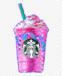 Starbucks Clipart Pink Starbucks Unicorn Frappuccino Png Free