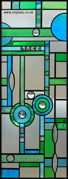 jewelled and bevelled glass