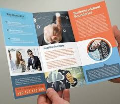 Trifold Brochure Examples Tri Fold Brochure Template Free Download