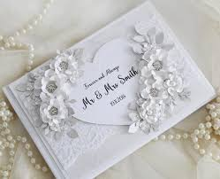 Sign Book For Wedding Lace Guest Book White Wedding Guestbook Wedding Sign Book Winter Wedding Silver Wedding Decorations Personalised Guest Book