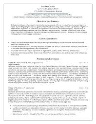 Resume Summary Examples Administrative Assistant Summary Qualifications Sample Resume For Administrative Assistant 4