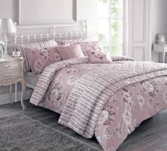 kayleigh bedding set in mulberry free uk delivery terrys fabrics stone cottage ava soft dusty pink