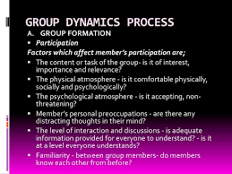 group dynamics group dynamics