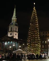Norway In London: The Anglo-Norse Society  Trafalgar Square's Christmas  tree is an annual gift to London from the people of Norway