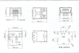 electronics datasheets connectors mini usb jpg 56k