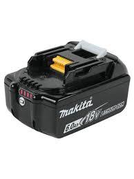<b>Аккумулятор</b> BL1860B, <b>18 В</b>, 6 Ач, 197422-4 <b>Makita</b> 8446412 в ...