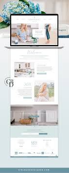 Cabinet Design Website Light Airy Coastal Branding For Wordpress Website