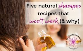 five natural shampoo recipes that won t work and why
