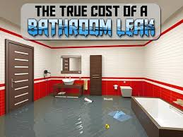 the true cost of a leak in the bathroom