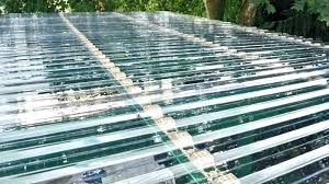 plastic clear corrugated roofing menards roof panels home depot image on ro
