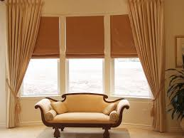 Kitchen Bay Window Treatment Bay Window Blinds Ideas