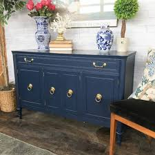 trends in furniture. Traditional Buffet Sprayed In Navy Lacquer - No Longer Available Trends Furniture R