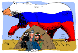 Image result for caricature us and russia