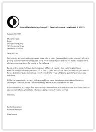 Format co Radioretail – Proper Letter