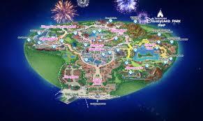 shanghai disneyland park map