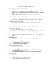 Correctional Officer Resume Objective Examples Correctional Best