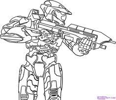 Small Picture halo character coloring pages Google Search drawing tv