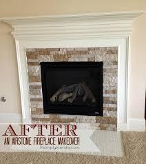 fireplace airstone makeover simplykierste com