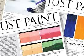 Fine Coat Paint Color Chart Golden Artist Colors Inc