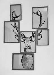 beautiful amazing grey wall frame art elk art in multiple frames on white wall suitable for on wall art picture frames with wall art top 10 amazing pictures wall frame art cheap framed wall