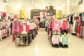 abstract avr led track lighting in asda george fashion display retail led
