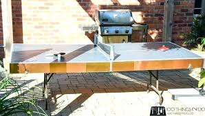 folding ping pong table how to homemade outdoor concrete diy decoration house free d