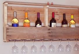 pallet wine glass rack. Exellent Pallet DIY Pallet Project Ideas For The Home  Storage Solutions And Organizaton  With Wine Glass Rack I