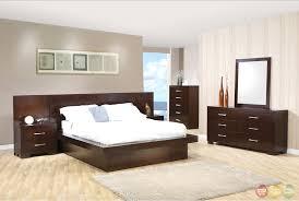 modern platform bedroom sets. Coaster Jessica Platform Bedroom Set Modern Sets D