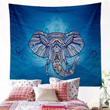 Image Towel Rack African Elephant Boho Macrame Wall Hanging Bohemian Decor Hippie Psychedelic Mandala Tapestry Wall Hanging Beach Towel Tent Yoga Aliexpress African Elephant Boho Macrame Wall Hanging Bohemian Decor Hippie