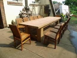 outdoor wood dining table. Solid Wood Outdoor Dining Table Plans Reclaimed R