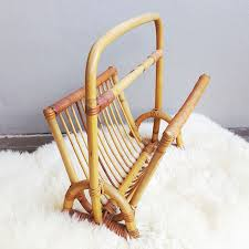 Rattan Magazine Holder Vintage Rattan Magazine Rack Cape Town Old Is The New New 100
