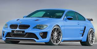 Coupe Series fastest bmw car : G-Power BMW M6 Hurricane. Look at how wide the tires are on that ...