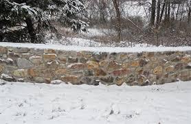 exterior stone walls. exterior stone veneer wall - blue mountain walls \u0026 pillars