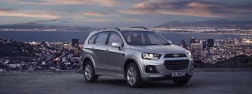 Captiva: 7 Seater Spacious SUV | Chevrolet SA