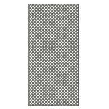vinyl lattice fence panels. Nantucket Gray Vinyl Privacy Diamond Lattice Fence Panels