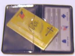 Card Metal Vanity Cards Social New Cards Replacement Medicare Security