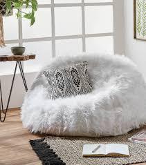 vinyl bean bag chairs large bean bags plush fur bean bag chair furry bean bag chairs for kids grey fluffy bean bag