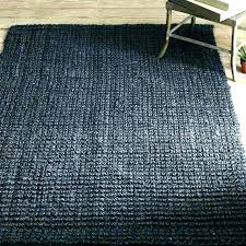 low pile area rug black wool rugs jute and easy pieces cut no