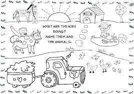 Farm Coloring Pictures Animal Farm Coloring Pages 7 Farm Animals