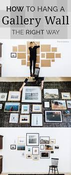 inspired gallery walls diy