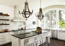 portland white kitchen cabinets with contemporary gas and electric ranges open shelving barrel ceiling