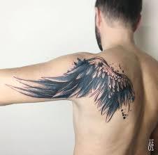 birds shoulder blade tattoo. Contemporary Tattoo For Birds Shoulder Blade Tattoo A