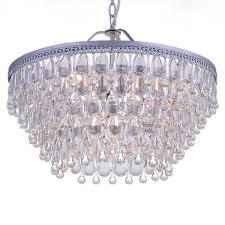 oval crystal chandelier pear drop ceiling light libra eriska regarding brilliant household oval crystal chandelier ideas