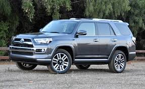 looking the part of a capable off roading suv the 2017 toyota 4runner limited has a chrome dipped face and big 20 inch wheels